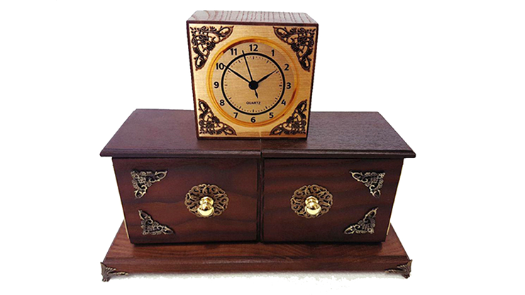Antique Clock Box - Tora Magic