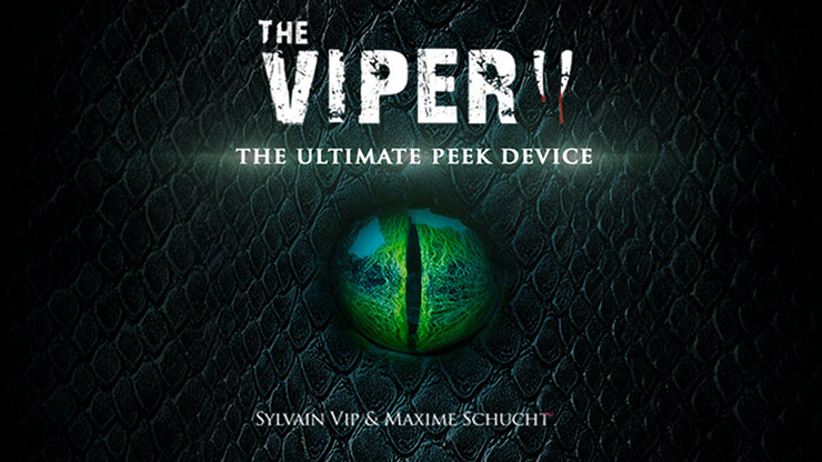 Marchand de Trucs & Mindbox Presents The Viper Wallet (Gimmicks and Online Instructions) by Marchand de Trucs Gimmick für Peeks