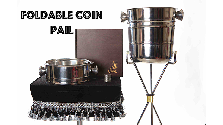 Foldable Coin Pail by Victor Voitko