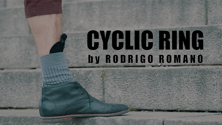 Cyclic Ring (Black) by Rodrigo Romano