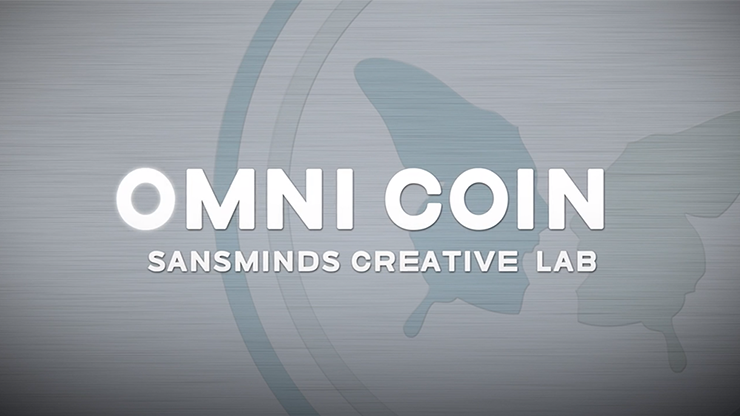 Omni Coin US version ( and  2 Gimmicks) - SansMinds Creative Lab