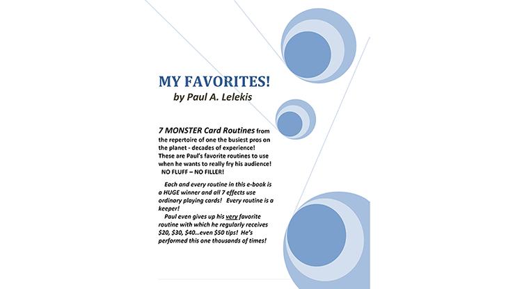 My Favorites! by Paul A. Lelekis eBook DOWNLOAD