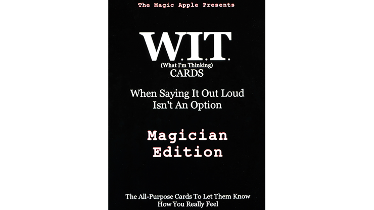 WIT Cards by Duppy Demetrius & Brent Geris
