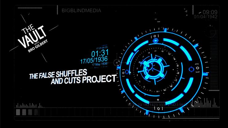 The Vault The False Shuffles and Cuts Project by Liam Montier and Big Blind Media video DOWNLOAD