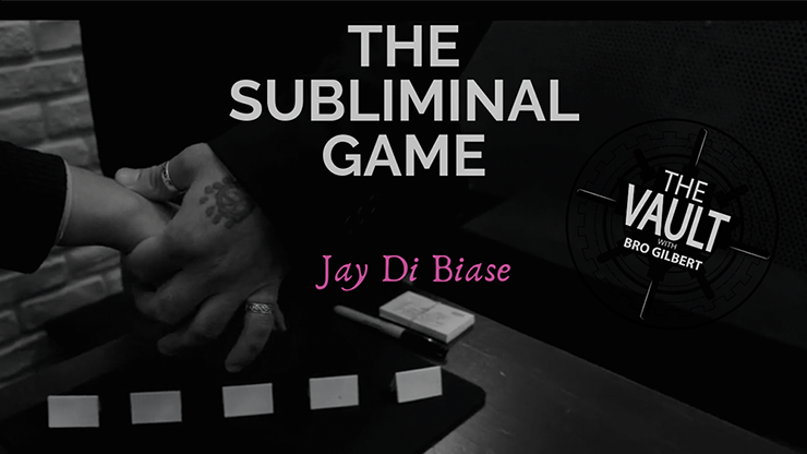 The Vault The Subliminal Game by Jay Di Biase video DOWNLOAD
