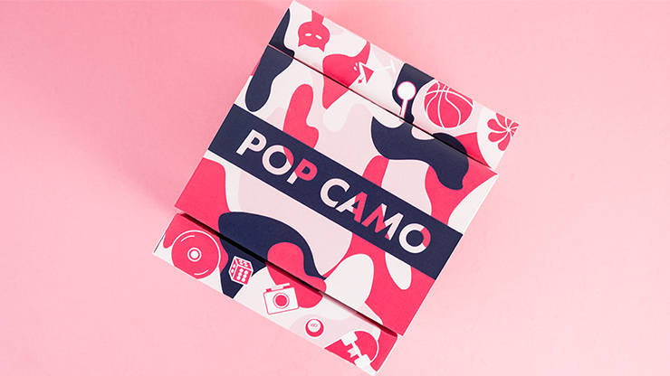 Limited Edition POP CAMO Playing Cards - Riffle Shuffle
