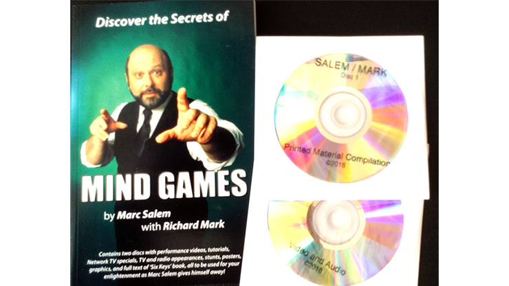 Discover the Secrets of MIND GAMES by Marc Salem with Richard Mark