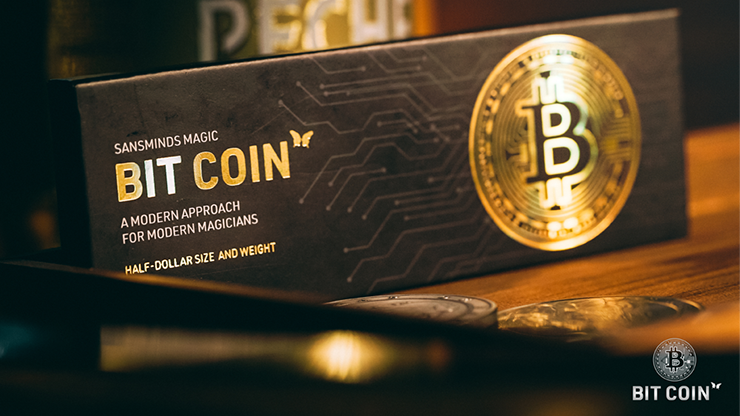 The Bit Coin Gold (3 Gimmicks and Online Instructions)