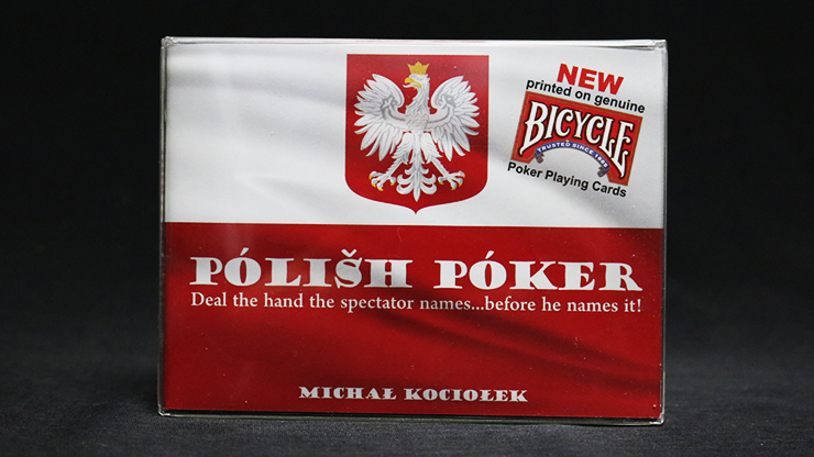 Bicycle Edition Polish Poker  (Gimmicks and Online Instructions)