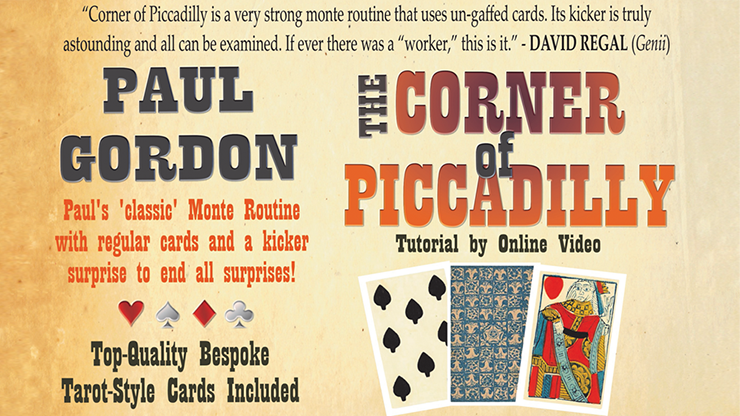 The Corner of Piccadilly (Tarot Size) by Paul Gordon