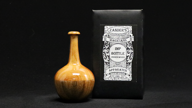 Imp Bottle (Mixed Wood) by Zanders Magical Apparatus - Trick