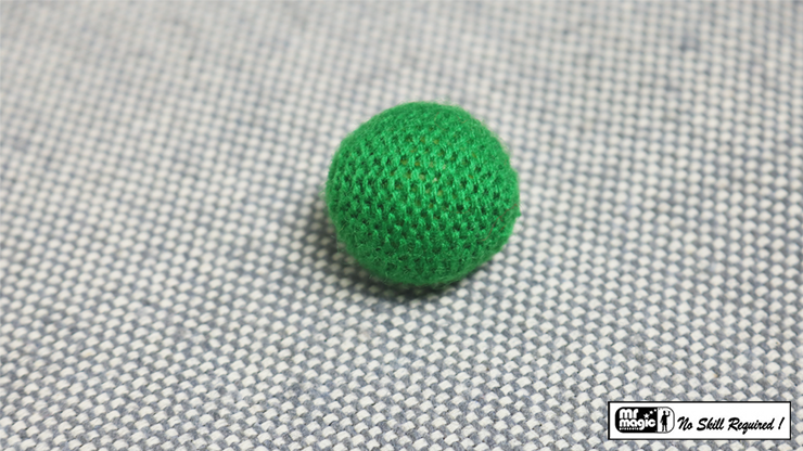 Crochet Ball .75 inch Single (Green) by Mr. Magic