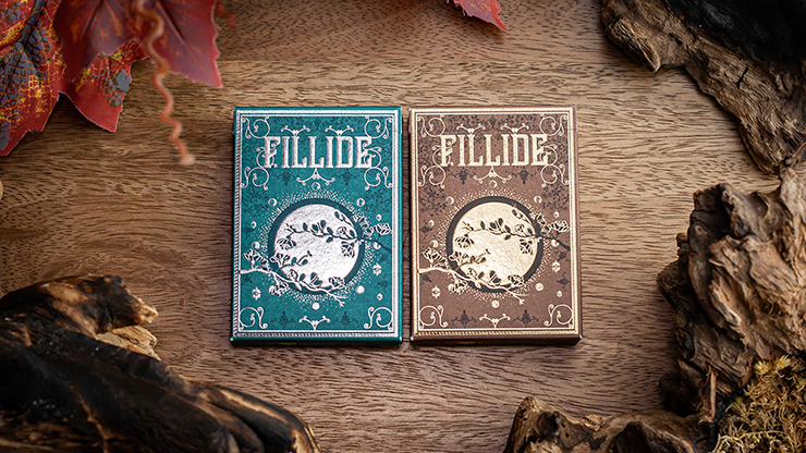 Fillide: A Sicilian Folk Tale Playing Cards (Terra) - Jocu