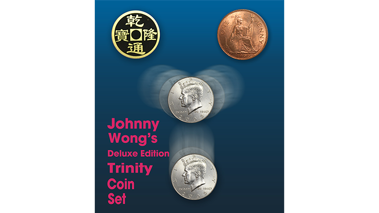 Deluxe Edition Trinity Coin Set () - Johnny Wong