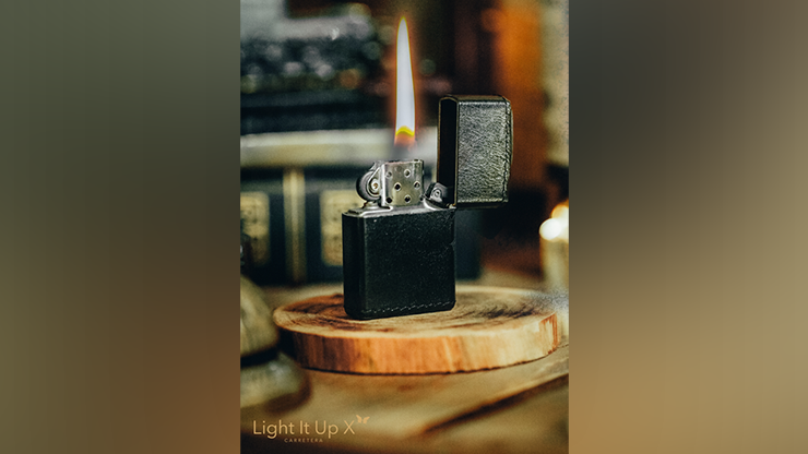 Limited Edition Light It Up X Alligator Black (Gimmicks, Remote and Online Instructions)