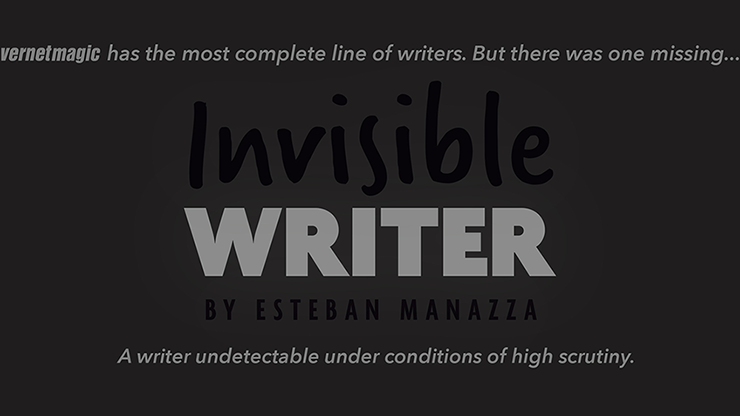 Invisible Writer (Grease Lead) - Vernet