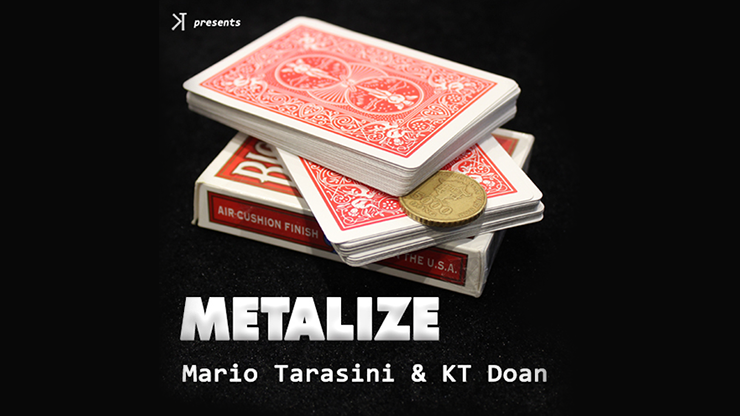 Metalize by Mario Tarasini and KT video DOWNLOAD