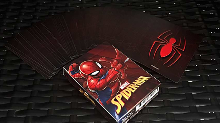 Avengers SpiderMan V2 Playing Cards