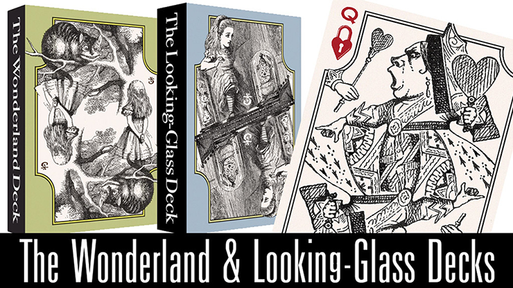The Wonderland and Looking-Glass Playing Card Set by Stephen W. Brandt