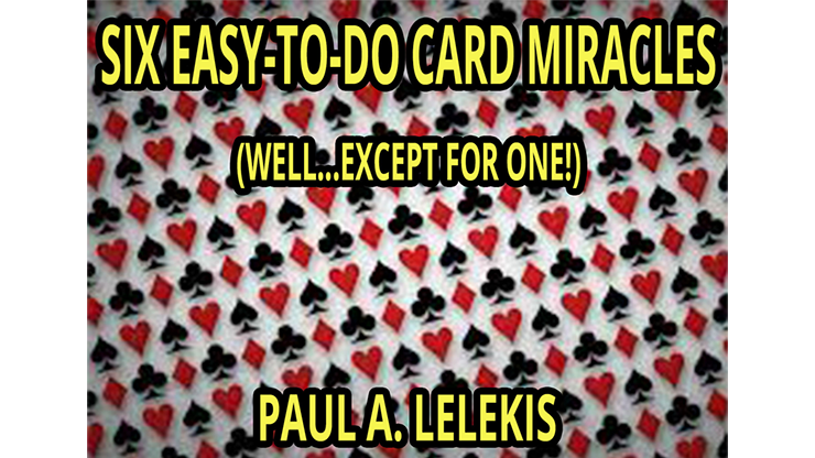 6 EZTODO CARD MIRACLES - Paul A. Lelekis eBook DOWNLOAD