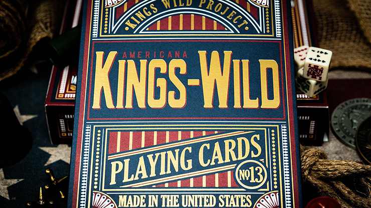 Kings Wild Americanas Gilded JUMBO Tuck Case Collectors Set Edit