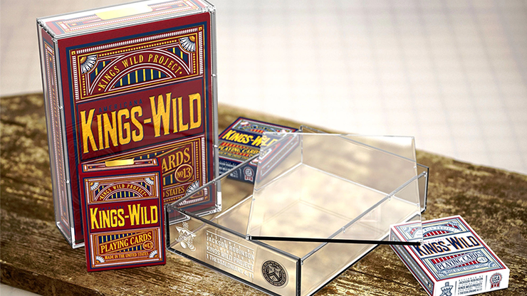Kings Wild Americanas JUMBO Carat Case ONLY for Collectors Set E
