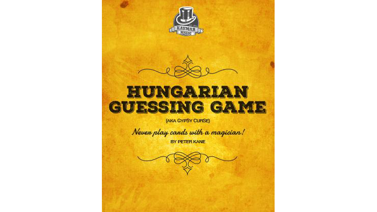 Hungarian Guessing Game AKA Gypsy Curse by Kaymar Magic