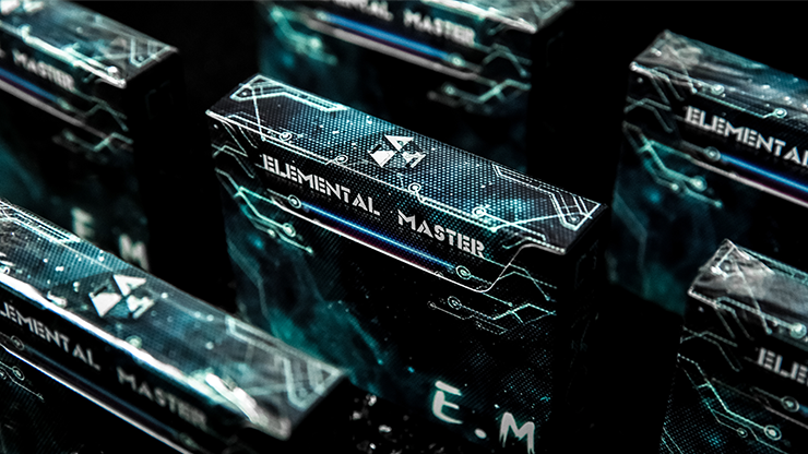 Elemental Master Green Edition Playing Cards - TCC