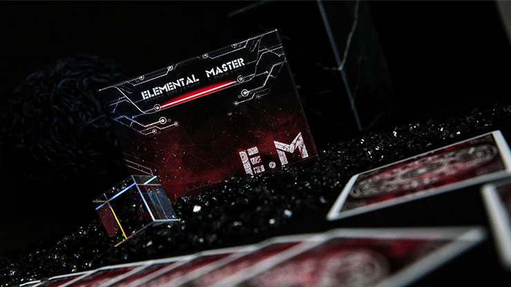Elemental Master Red Edition Playing Cards - TCC