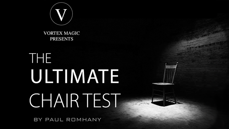 Vortex Magic Presents Ultimate Chair Test (Gimmicks and Online Instructions)