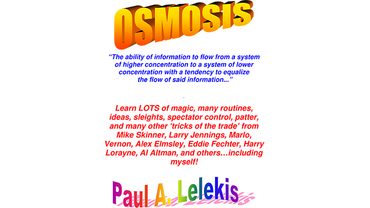OSMOSIS I  Paul A. Lelekis Mixed Media DOWNLOAD