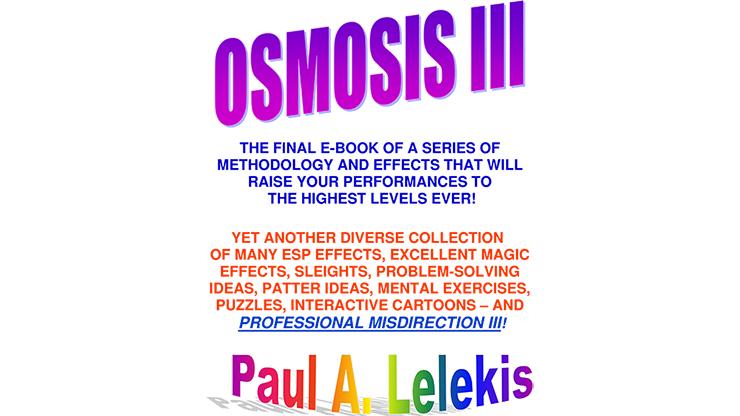 OSMOSIS III  Paul A. Lelekis Mixed Media DOWNLOAD