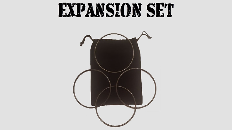 Expansion Set in Dark Black (Gimmick and Online Instructions) by Matthew Garrett - Trick