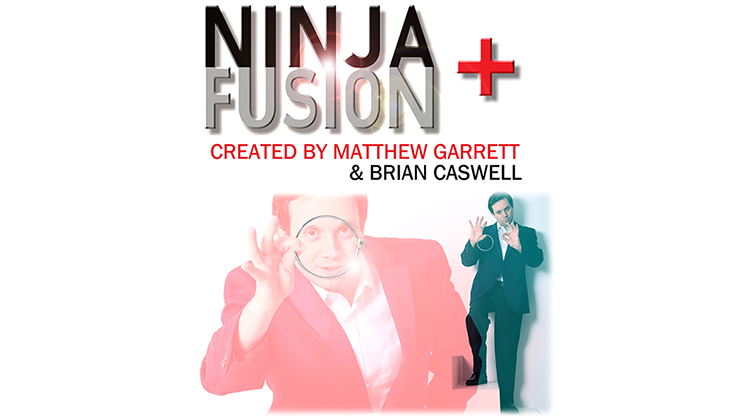 Ninja+ Fusion in Dark Black  by Matthew Garrett & Brian Caswell