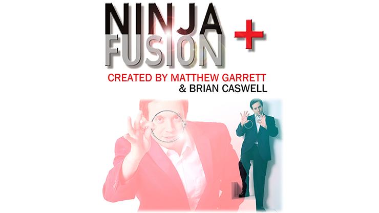 Ninja+ Fusion in Dark Black (With Online Instructions) by Matthew Garrett & Brian Caswell - Trick