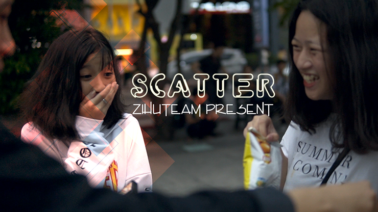 Scatter (Gimmicks and Online Instructions) - Zihu