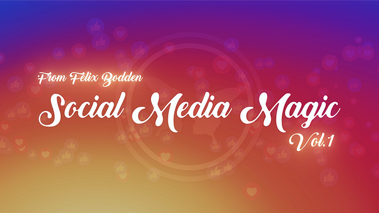 Social Media Magic Volume 1 (DVD and Gimmicks) by Felix Bodden - DVD