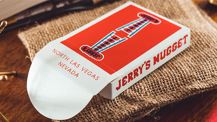 Vintage Feel Jerry's Nuggets (Red) Playing Cards
