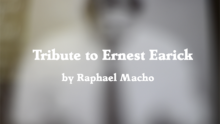 Tribute to Ernest Earick by Raphael Macho