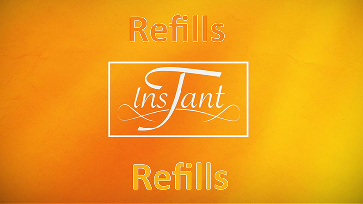Instant T REFILL / 2019 (Gimmicks and Online Instructions) - The