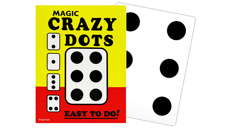 CRAZY DOTS (Stage Size) - Murphy's Magic Supplies
