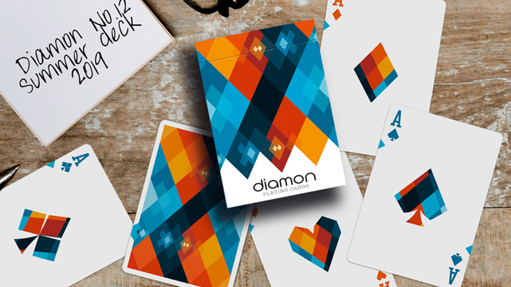 Diamon Playing Cards N° 12 Summer 2019