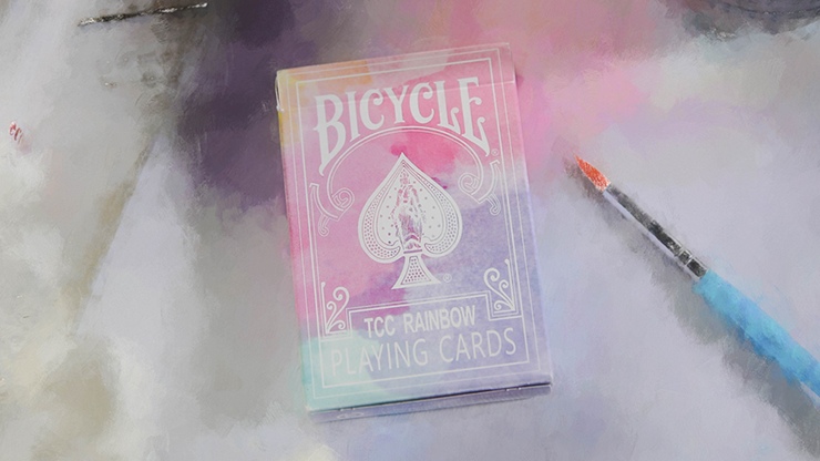 Bicycle Rainbow (Mandolin) V2 playing cards by TCC