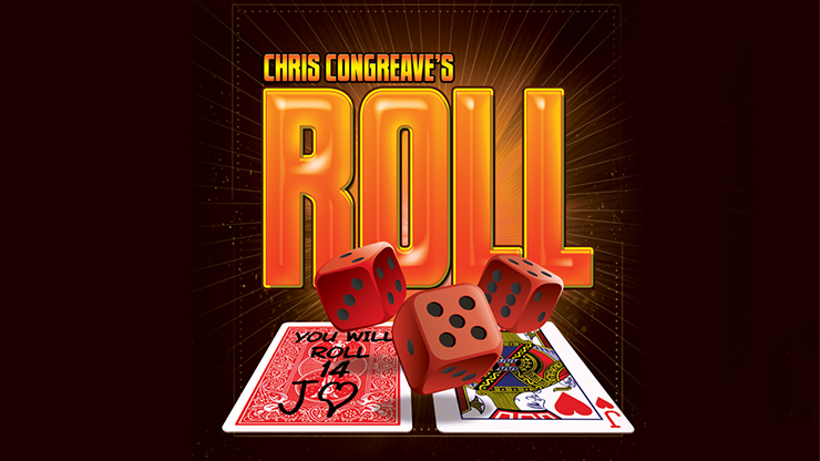 Roll (Gimmicks and Online Instructions) by Chris Congreave Mentaleffekt mit Würfel und Karten
