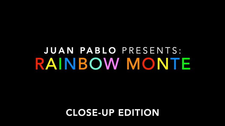 Rainbow Monte (Close up) - Juan Pablo