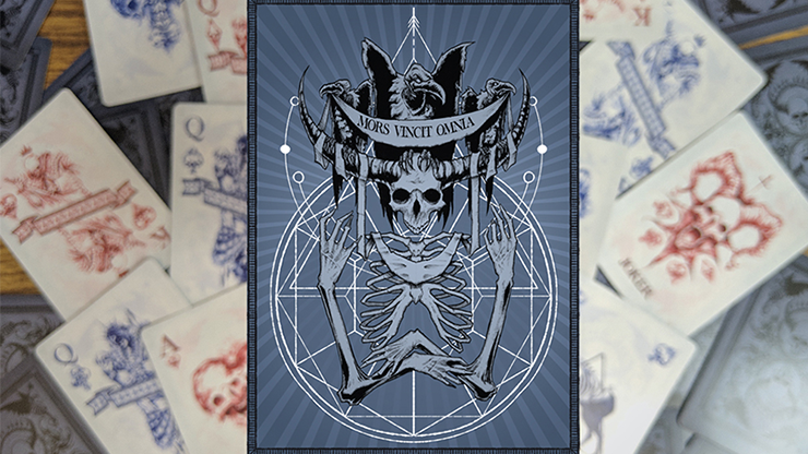 Mors Vincit Omnia Playing Cards - Any Means Necessary