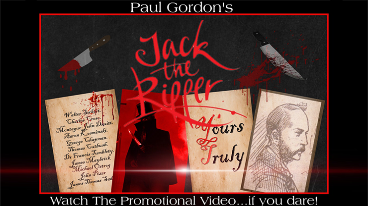 JACK THE RIPPER by Paul Gordon - Trick