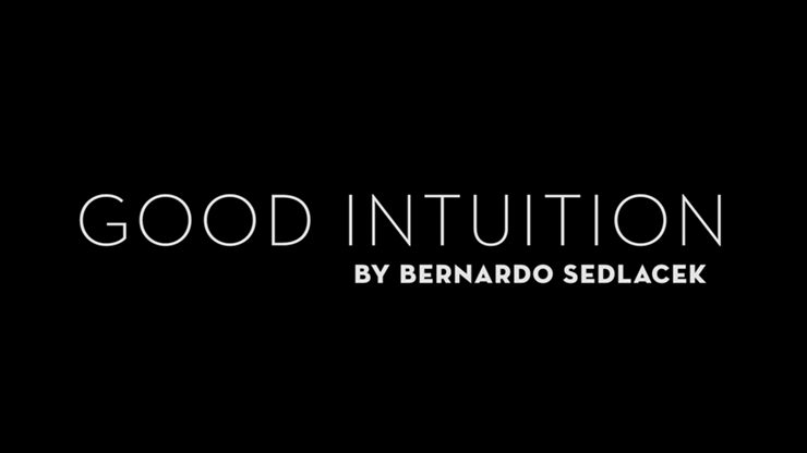 Good Intuition - Bernardo Sedlacek video DOWNLOAD