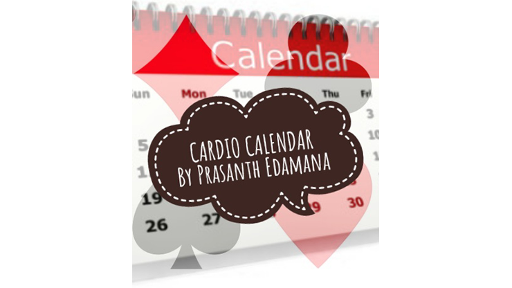 Cardio Calendar by Prasanth Edamana Mixed Media DOWNLOAD