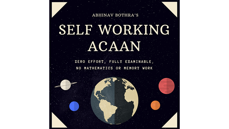 Self Working ACAAN by Abhinav Bothra Mixed Media DOWNLOAD